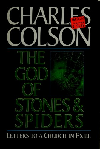 The God of stones and spiders : letters to a church in exile